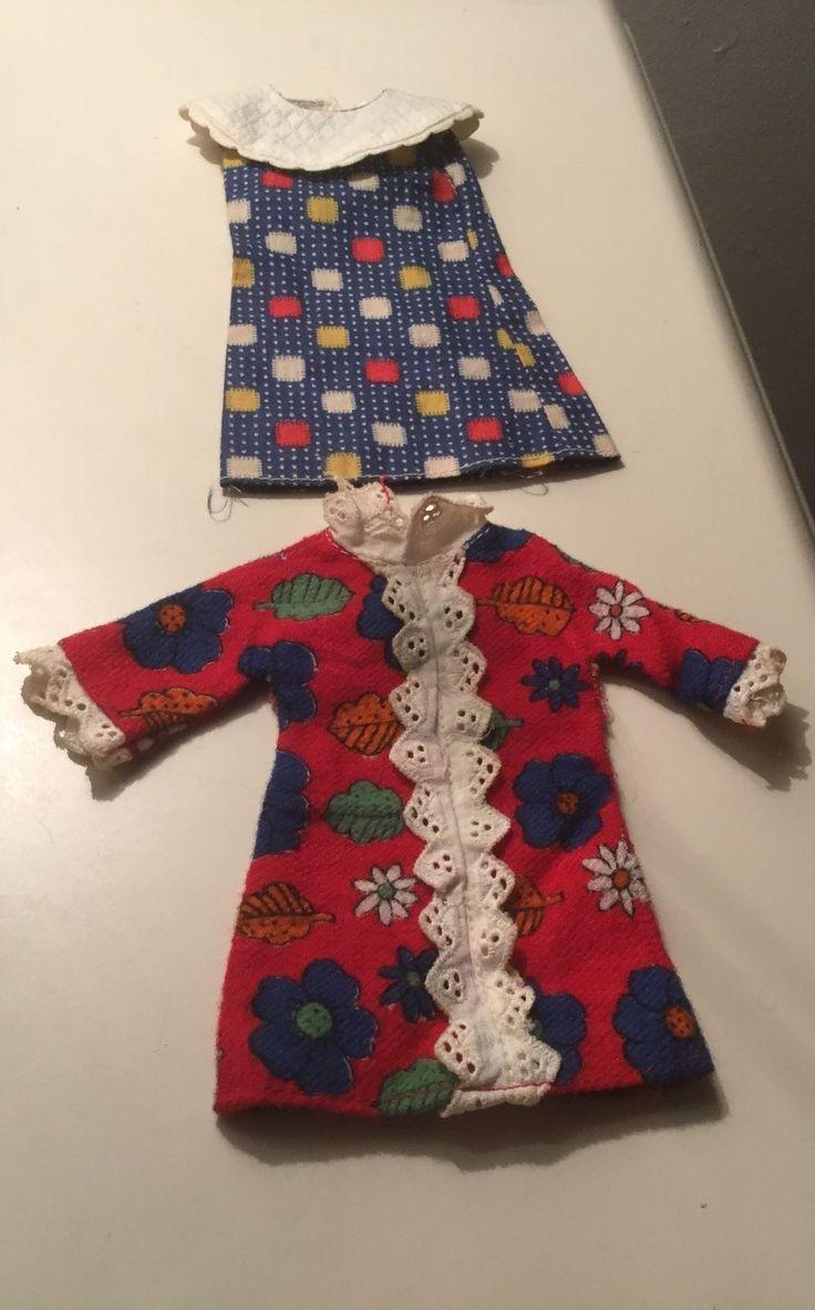 Two vintage faerie Glen dresses to fit teenage doll Sindy Barbie or Tressy | eBay