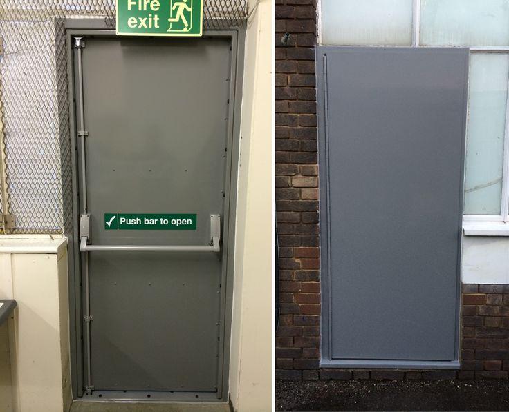 Heavy Duty Steel Security Doors