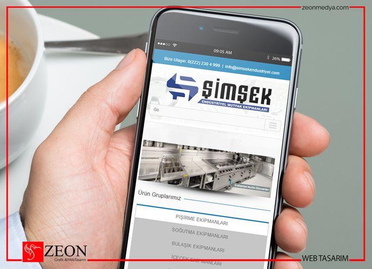 Zeon Medya | Şimşek Endüstriyel Web Tasarım