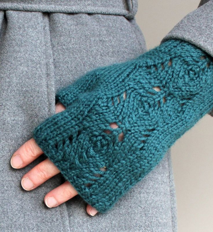 Pine Cone Knitting Pattern : 1177 best images about Fingerless gloves on Pinterest Fair isles, Ravelry a...