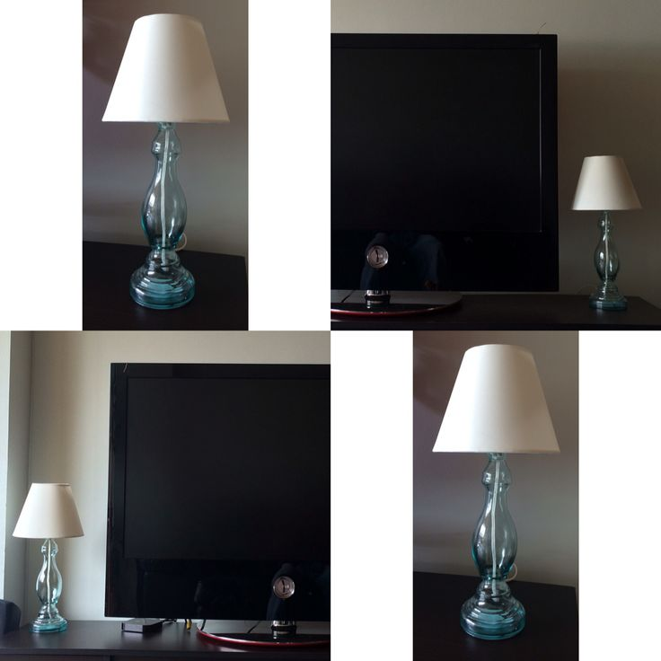 Lampara de vidrio #vidrio #lampara