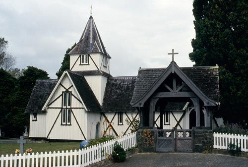All Saint's Church, Howick Auckland is the second oldest church in NZ