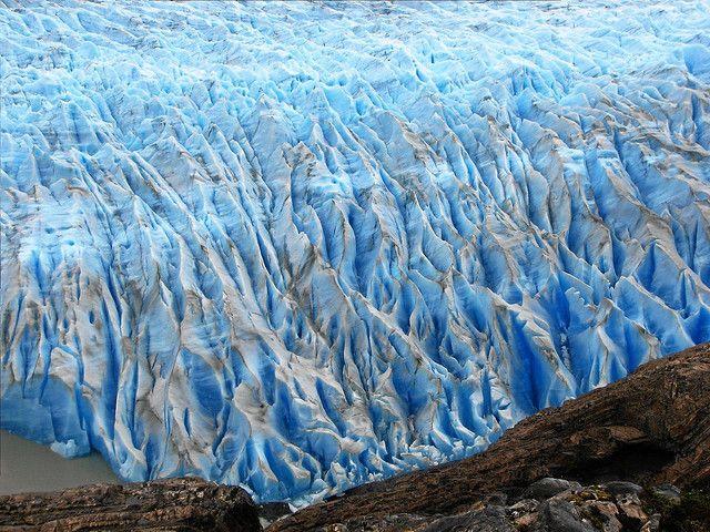 Glaciar Grey, en el Parque Nacional Torres del Paine, Chile
