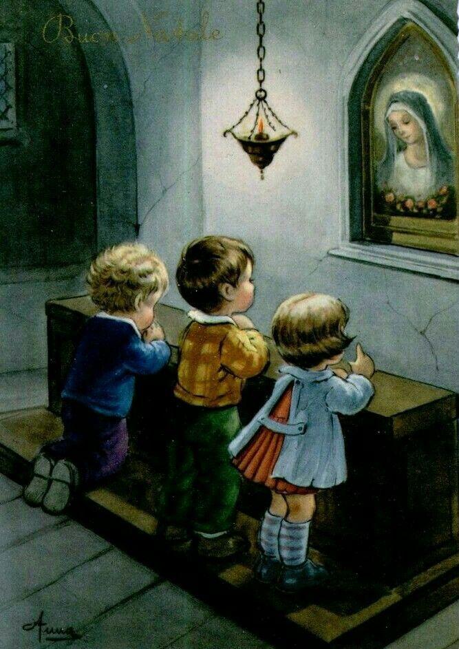 É desde criança que um católico aprende a amar a Virgem Maria. Não há como não amar aquela que foi imensamente amada pelo próprio Jesus, seu Filho.