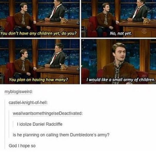 He can call each of them a different member... Cho. Colin, Fred, George etc