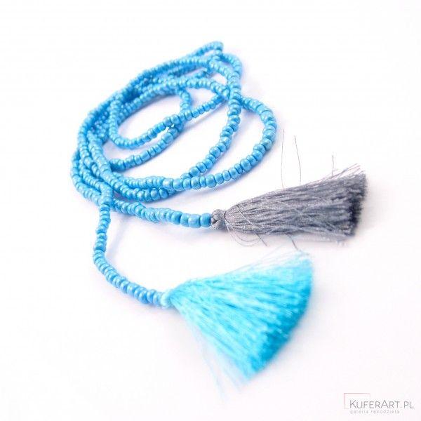 Naszyjnik boho - Naszyjniki, korale - Biżuteria artystyczna