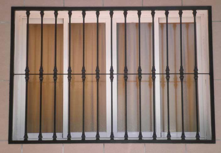 Rejas para ventanas barcelona instalacion rejas ventanas - Pintura para rejas ...