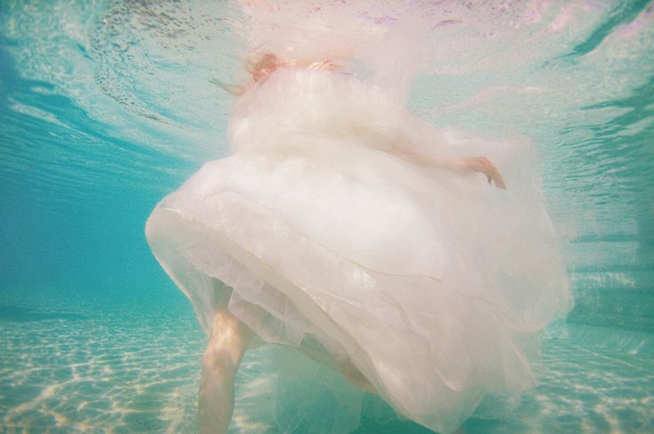 Water and the Wedding Dress shoot - Candice - Photographer Lisa Michele Burns