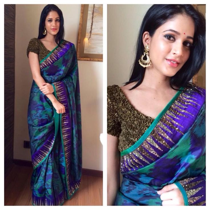 Lavanya Tripathi New Saree Stills