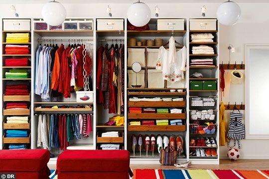 31 besten ordnung im kleiderschrank bilder auf pinterest ordnung wohnen und ankleidezimmer. Black Bedroom Furniture Sets. Home Design Ideas