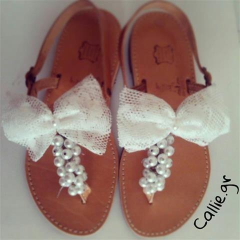Handmade Wedding Sandals