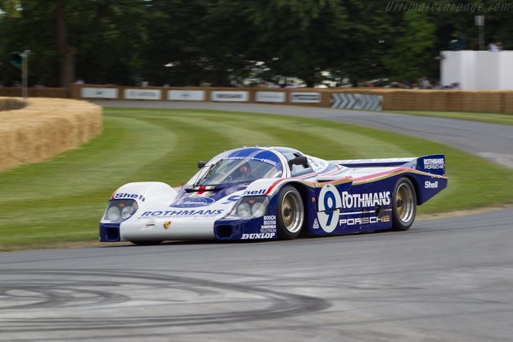 Porsche 956 (Chassis 956-004 - 2014 Goodwood Festival of Speed) High Resolution Image
