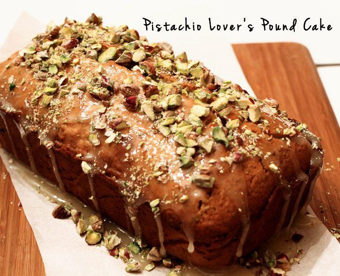 Pistachio Honey Pound Cake | Keepers | Pinterest