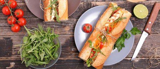 Que tal um sanduíche natural prático e econômico em calorias?