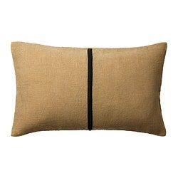 IKEA - HELGONÖRT, Cushion cover, Jute fibre, with its natural colour and…