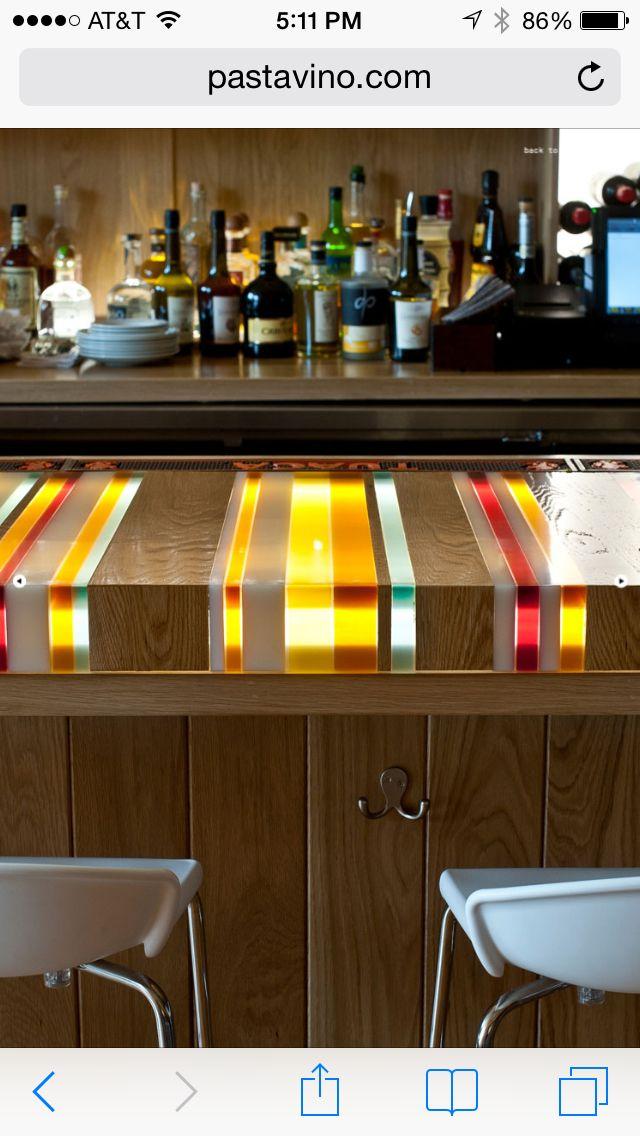 Resin And Wood Countertop
