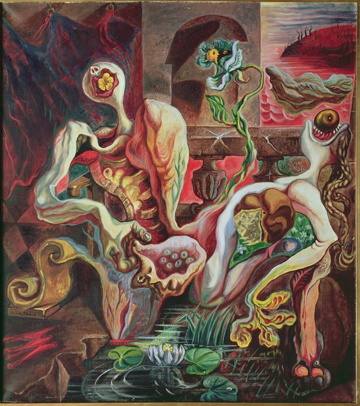 The Metamorphosis of the Lovers by Andre Masson