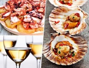 Prueba los mejores manjares de Galicia: pulpo + zamburiñas + Ribeiro para 2 personas en La Zapatería, ¡y a qué precio!