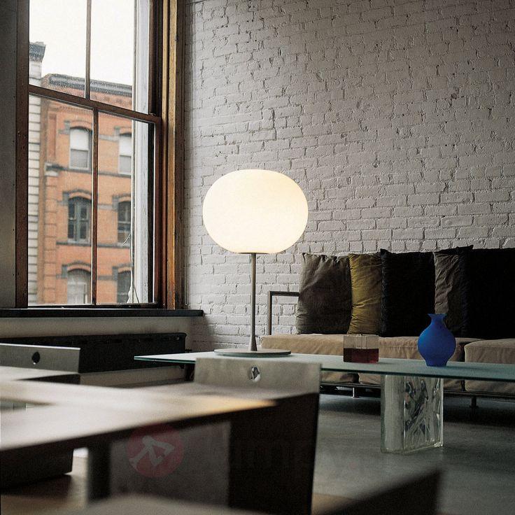 Szlachetna lampa stołowa GLO-BALL T1 srebrny mat 3510120