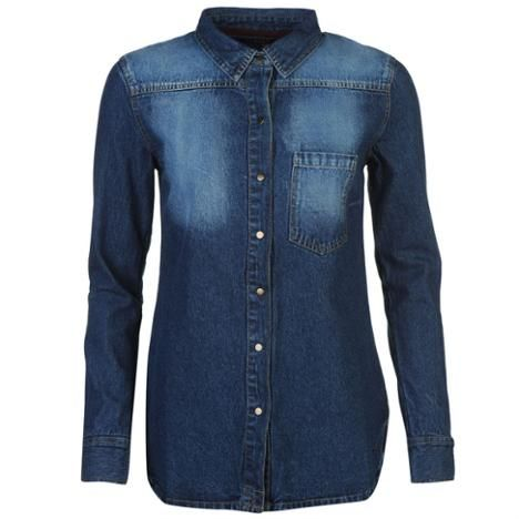 Firetrap Blackseal Denim Shirt (657060-65706018)
