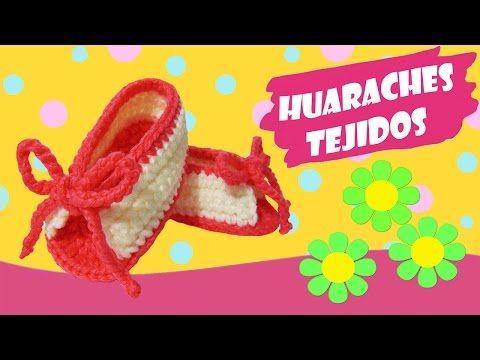 Huaraches tejidos a crochet sencillos  |  paso a paso - YouTube