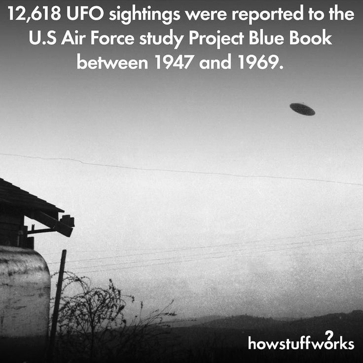 """howstuffworks: """"Happy World UFO Day!⠀ ⠀ UFOs are more often than not revealed to be something very well known – a weather balloon or airplane lights, for example. But in anywhere from 5 to 10 percent..."""