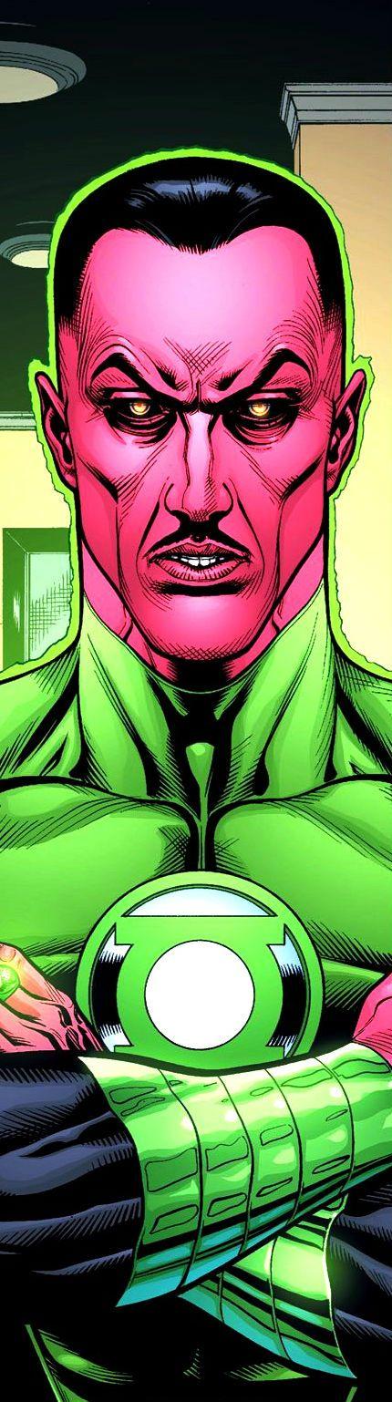 Green Lantern Sinestro by Doug Mahnke
