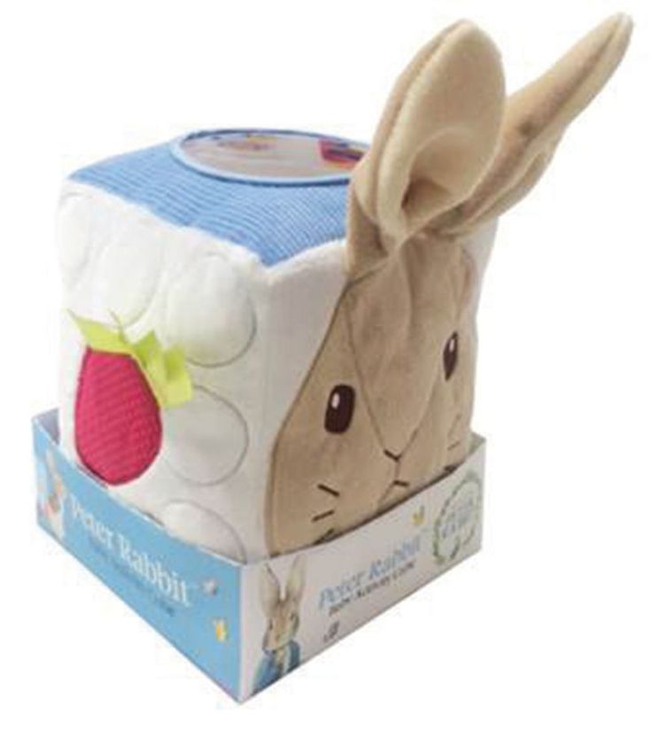 Peter Rabbit Activity Cube, suitable from 10 months!