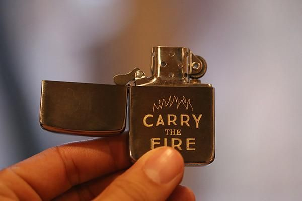 """Carry the Fire"" Zippo Lighter – The Art of Manliness Store"