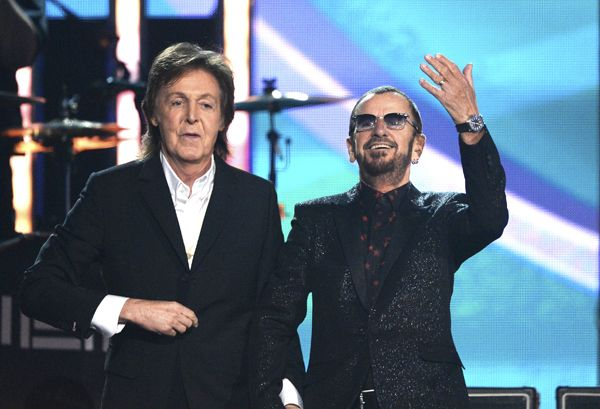 Gave me goose bumps to see Paul McCartney and Ringo Starr Share Grammy Stage for Rare Performance | Agreed, made me cry.