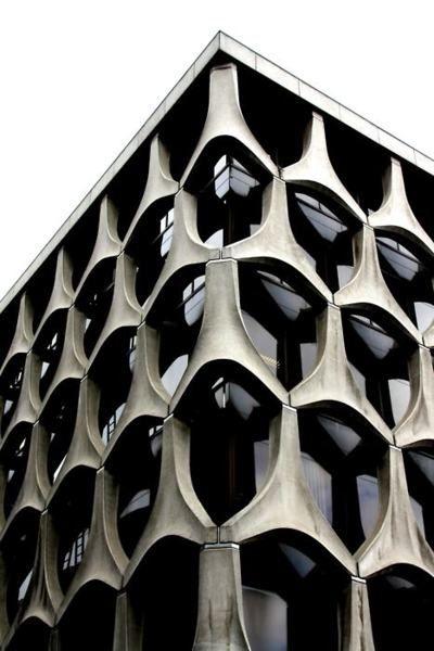 BNP Paribas Fortis Building, Rue Neuve 160 1000 Bruxelles, Belgium @BNP #modern #architecture #concrete