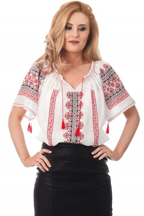 Ie traditionala romaneasca motivul Curaj