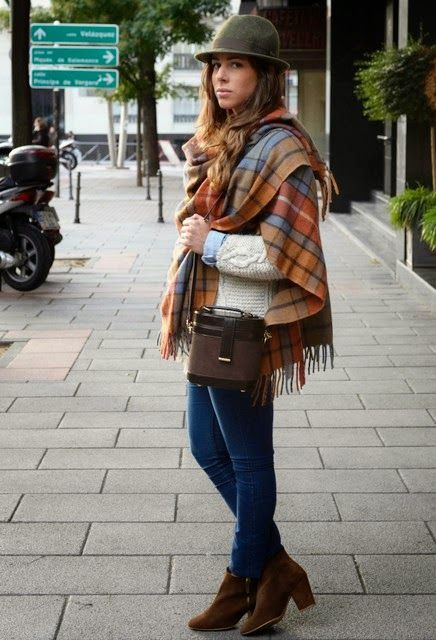 Be Creative Be You: Trend Alert - Oversized Scarves