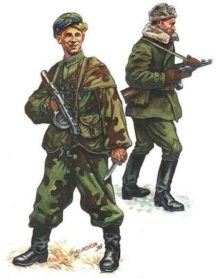 Soviet Special Force Ww2 Balticstaadt Ww2 Uniforms