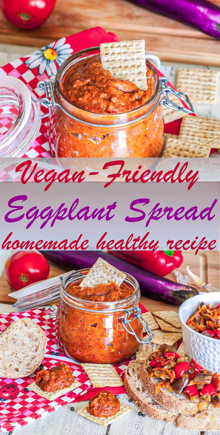 Jun 23, 2020 – This simple Eggplant Spread recipe tastes amazing with that entire wonderful veggie flavor. Made with who…