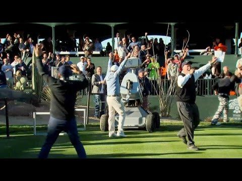 LDRIC (Launch Directional Robot Intelligent Circuitry), a golf robot created by Golf Laboratories, recently made a hole-in-one on the 16th hole at the Waste Management Phoenix Open in Scottsdale, A…