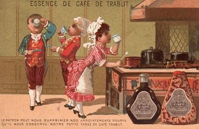 essence de cafe de trablit