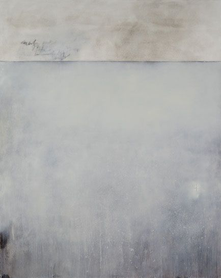 STEVEN SEINBERG - MORNING - OIL AND GRAPHITE ON CANVAS - 80 X 64 INCHES - 2009