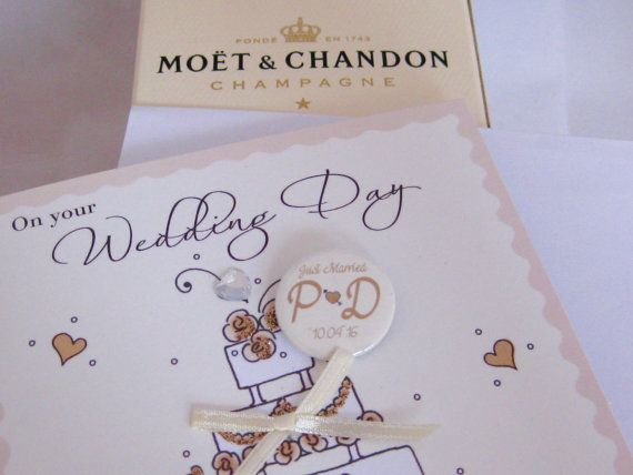 Wedding Badges Favours Personalised Initial and Date Love