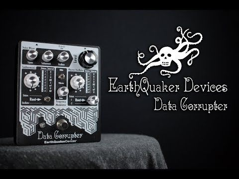 Earthquaker Devices Data Corrupter [Bass Demo] - YouTube