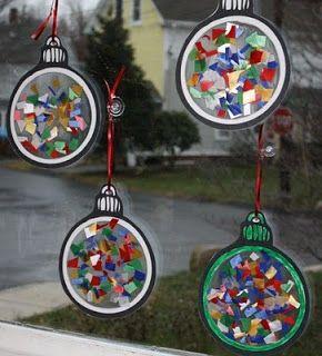 Mise à jour du 1/11/12 : Ajout d'une nouvelle idée avec gabarit Après le Rallye-lien d'Halloween lancé par Gdine voilà  Cenicienta qui lance un sur Noël et en particulier sur des idées de...