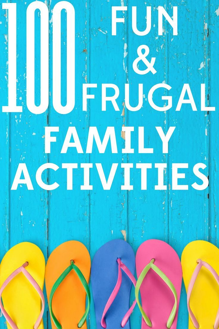 Summer just started and the kids are already complaining that they're bored? We've got you covered with 100 fun and frugal activities for the whole family.