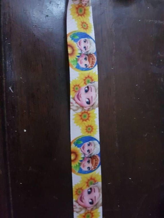 Check out this item in my Etsy shop https://www.etsy.com/ca/listing/581749758/frozen-inspired-grosgrain-ribbon