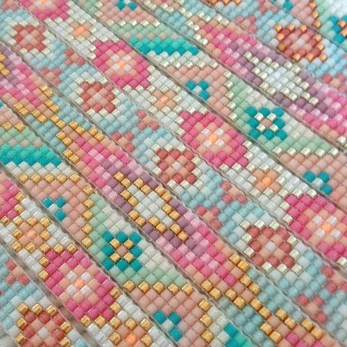 Beads-armbandje 'Pastel Dreams' - Mint15 …