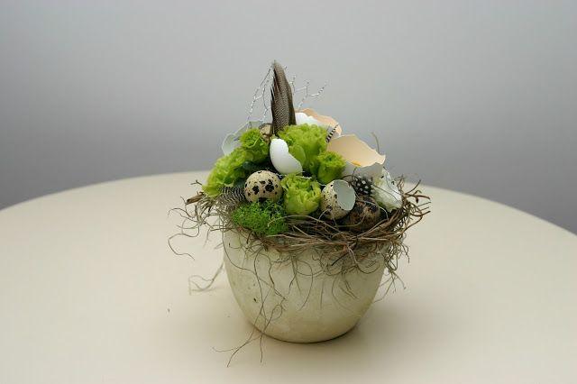 Flowers of Soul: Aranjament floral pentru Paste