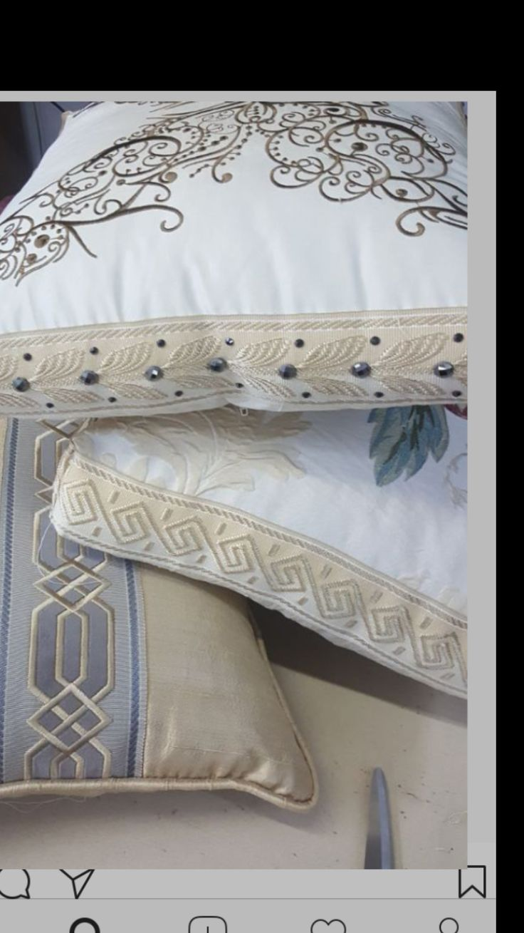 #trimming #border #embroidery