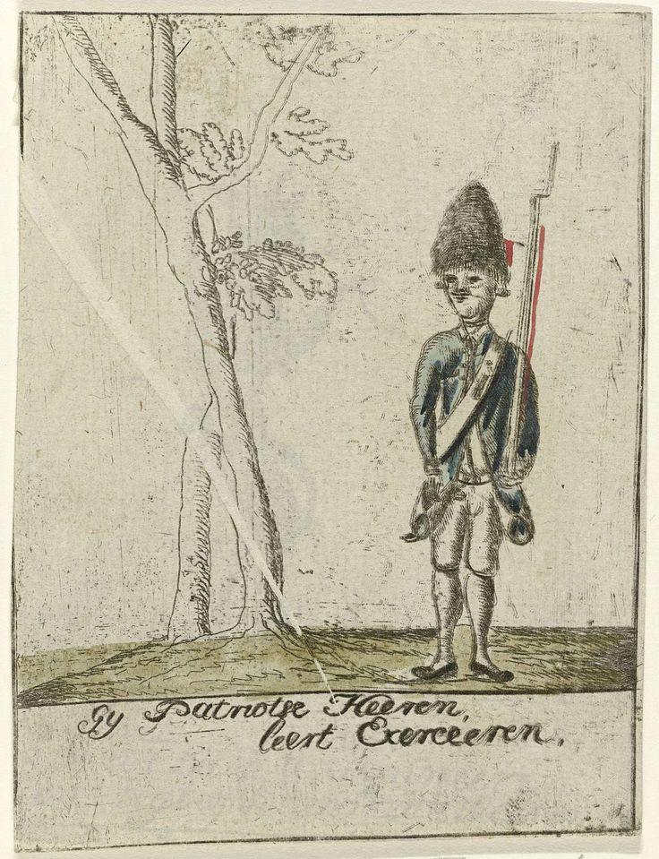 Patriotse Grenadier, anoniem, 1787