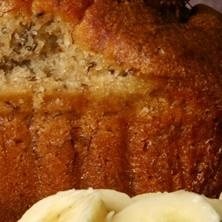 Boo Boo Banana Bread - Bethenny Frankel's Recipes  Servings: 10  Makes 1 Loaf:  1 cup(s) of raw sugar  1 tbsp. of butter (regular or nondairy)  1 cup(s) of mashed over ripe bananas (2 or 3)  1 egg  1 tsp. of real vanilla extract  1 cup(s) of oat flour  3/4 tsp. of baking powder  1/2 tsp. of baking soda  1/4 tsp. of salt  1/2 cup(s) of semisweet chocolate chips