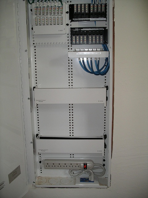 Structured cable panel 001 by drmiller_1999, via Flickr