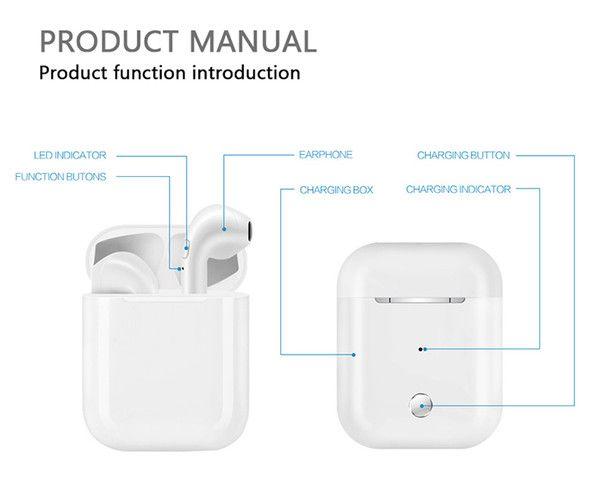 Casque Dect I9S TWS Twins Bluetooth Écouteur Sans Fil